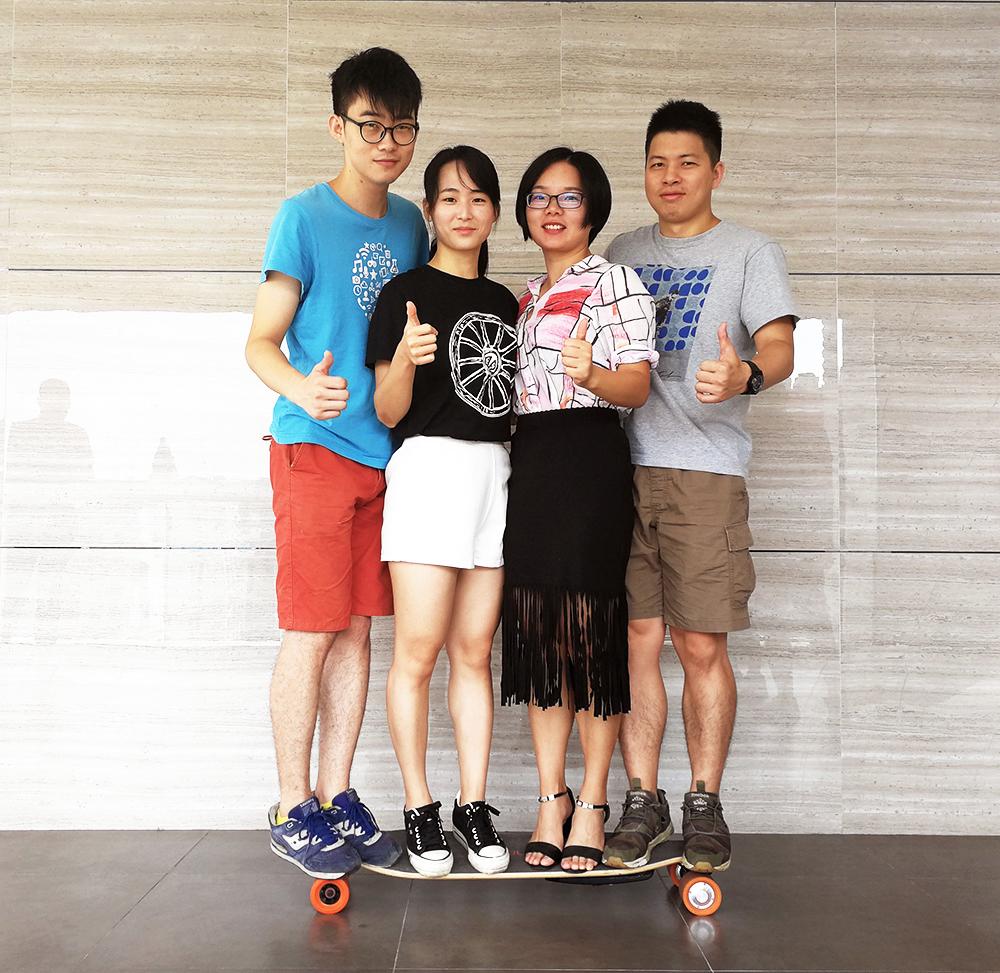 maple eskateboard