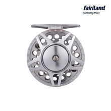 70mm 2BB+1RB 1/2 LARGE ARBOR designed FULL METAL fly fishing reel PRECISION MACHINED from BAR-STOCK ALUMINUM fish wheel ice reel