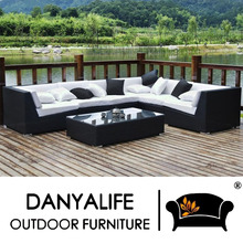 DYSF-D6603 Danyalife High End Customization Poly Synthesis Rattan Garden Sofas(China)