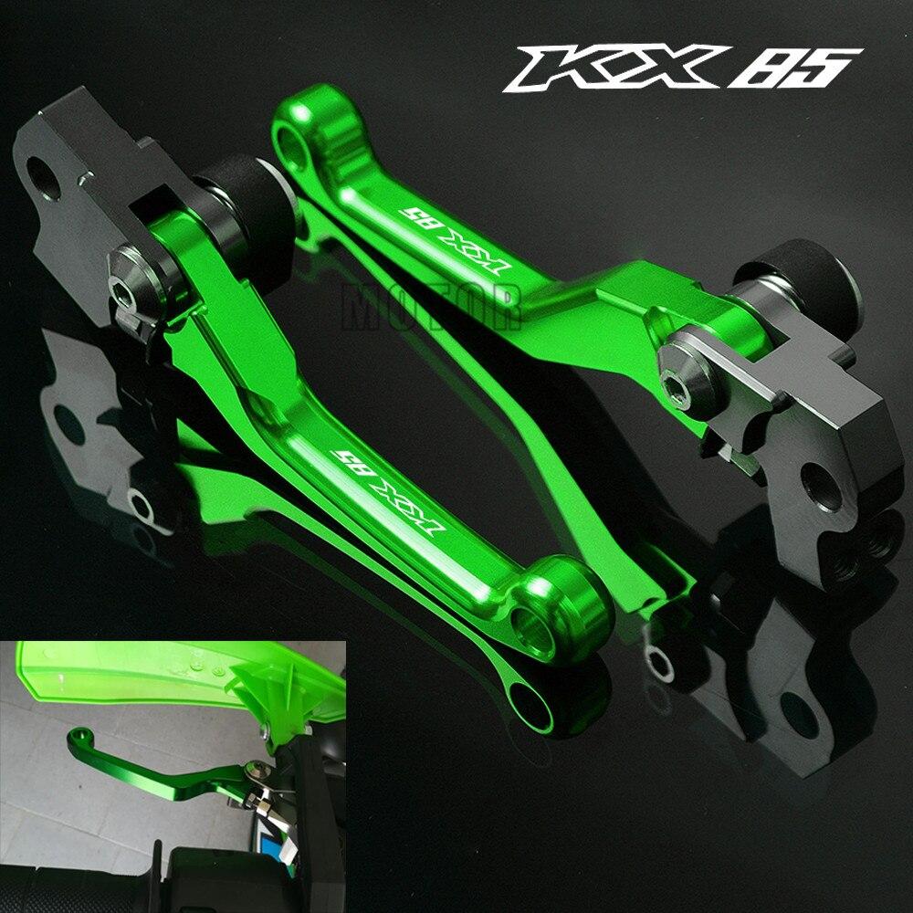 Pit Dirt Bike Green CNC Gas Fuel Tank Cap For KX65 KX85 KX100 KLX110 KX125 KX250