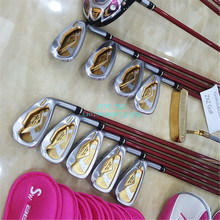 lady golf clubs driver+golf fairways woods+golf irons 917D2 for honma S-03 m2 majesty golf complete sets shaft r15 xr solaire