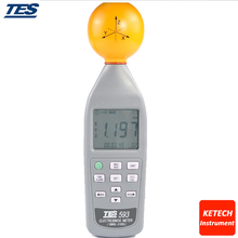 TES593 EMF Meter Data Logger Electromagnetic Radiation Detector