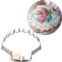 1pcs sea shell Stainless Steel Metal Cookie Cutter Fondant Cake Decorating Tools Pastry Shop Cupcake Bakeware moule patisserie