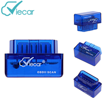 VieCar VC001-B OBDII 2 SCAN Bluetooth 2.0 Diagnostic Scan Tools ELM327 V2.1 Code Readers for 1996 to 2015 Cars & Light Trucks(China)