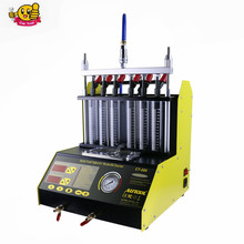 NEW Arrival AUTOOL CT200 gasonline 6/4 cylinder Car Motorcycle Auto Ultrasonic Injector Cleaning Tester machine 220/110V