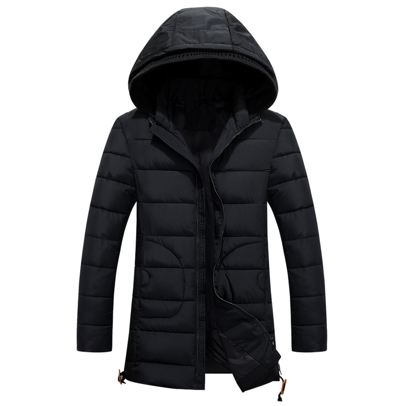 2017 Winter New Casual Hooded Mens Winter Jackets And Coats Long Thick Waterproof Mens Parka CoatОдежда и ак�е��уары<br><br><br>Aliexpress