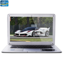 14inch Intel Core i5 CPU 8GB RAM+240GB SSD Windows 7/10 System 1920*1080 FHD Wifi Bluetooth Six Colors Laptop Notebook Computer