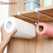 Practical Toilet Towel Storage Rack Roll Paper Holder Kitchen Cabinet Hanging Shelf Organizer Bathroom Kitchen Accessories(China)