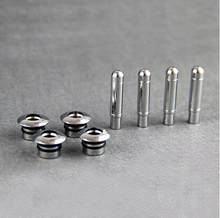 Stainless steel Chrome trim Door Lock Stick Pin Cap car auto part For Chevrolet Cruze hatchback sedan