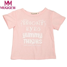 MUQGEW Toddler Kids Baby Girls Letter Print Blouse Tops Shirt Kids Clothes Outfit baby Boys blouse winter blusas de inverno(China)