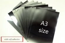 A3 size Inkjet PET Metalized Film 20 pieces for inkjet printer with dye ink(China)