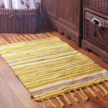 Buy Ouneed Mediterranean Style 50x80cm cotton Carpet Colorful Area Rugs Living Room European Home Warm Plush Floor Rug for $10.35 in AliExpress store