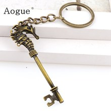 Key Charms KeyChain Bag Decoration For Car Key Ring Jewelry Findings Accessoriesp3 Keyrings(China)