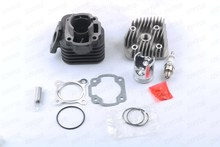 40mm/10mm cylinder kit + cylinder head cover + spark plug for APRILIA Gulliver Rally Scarabeo Sonic Sr 50cc