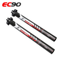 EC90 New 3K Carbon Fiber MTB Road Bicycle Seatpost Road &Mountain Bike Seat Tube Racing Bicycle Seat Post Bike Parts 6 Sizes