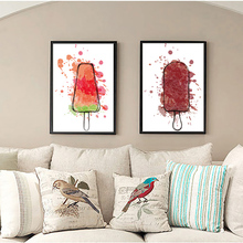 Fashion icicle Vintage Art Prints Poster Hippie Wall Picture Canvas Painting No Framed Office Home Decor(China)
