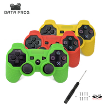 Silicone Case for PS3 Controller for Playstation 3 Controller Protective Skin Cover Wrap Case Joystick Gel Rubber for PS3 + Tool(China)