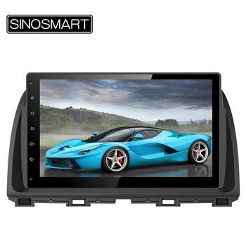 SINOSMART 10.2 ''. 6 GHz Quad Core RAM 1G Android 4.4 Voiture Radio GPS Lecteur de Navigation pour Mazda CX-5 2012 2013 2014 PAS Canbus