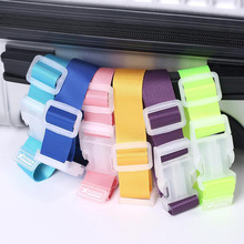 1 pcs High Quality Travel Elastic Luggage Straps Adjustable Strap Travel Luggage Belt Outdoor Portable Baggage Accessory(China)