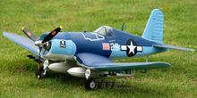 TOPRC RC aircraft model plane Mini F4U PNP