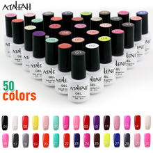 Maleah Nail Gel Polish UV LED 50 Colors 6ML Long Lasting Soak Off Varnish Cheap Manicure