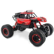 Buy Electric 1:18 Rc Cars 4WD Shaft Drive Trucks High Speed 25KM/H Radio Control Brushless Truck Scale Super Power Toys Children for $43.39 in AliExpress store