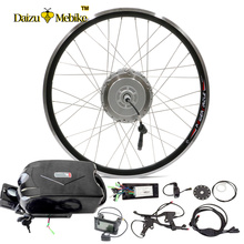 "48V 250W 350W 500W 10Ah Electric Bike Conversion Kit with Lithium ion Battery LCD Display For 20"" 26"" 700C Motor Wheel 12 Magnet(China)"