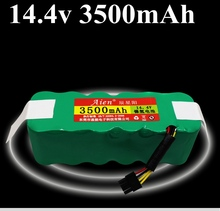 1piece 14.4v 3500mah battery pack ni mh battery rechargable battery for Vacuum cleaner sallei Dibea X500 X580 KK8 ecovacs cr120
