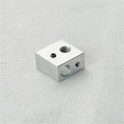 WANHAO 3D printer parts accessory MK9 Duplicator 4 D4 heater block aluminum block<br><br>Aliexpress