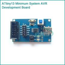 ATtiny13 Minimum System AVR Development Board Core Board USB ISP