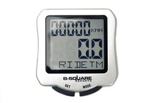New Noctilucent Bicycle Cycling stopwatch Bike cyclometers waterproof cycle fahrrad computer(China)
