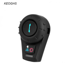 KEOGHS New Motorcycle helmet bluetooth intercom headset interphone for 2 riders moto comunition 500meter 1pc