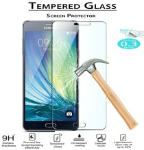 NEW! Original Premium 0.3mm 9H 2.5D Tempered Glass For Samsung Galaxy S3 S4 S4MINI S5 S6 S7 A3 5 7  Screen Protector Film