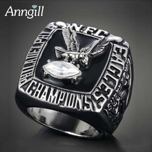 ANNGILL Drop Shipping Championship Rings Philadelphia Eagles National Football Anillo High Quality Men Ring Sport Jewelry(China)