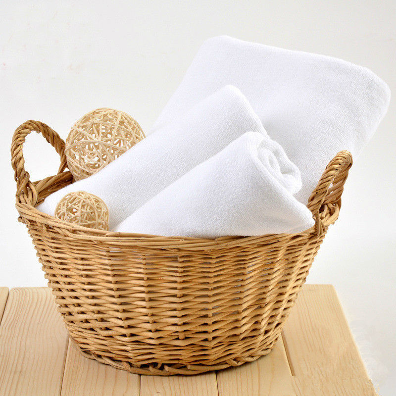 White 100% Cotton Face Towel Luxury Brand For Bath Hotel Adult Women Face cloth Travel 34*74cm(China (Mainland))
