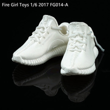 1/6 Fire Girl Toys FG014 tide coconut hollow movement leisure shoes The spot(China)