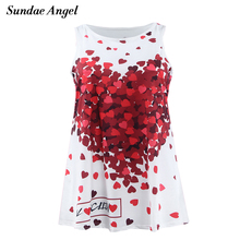 Sundae Angel 2-7T Baby Girls Dress Children Clothes Print Flower European and american style Sleeveless A-Line for Party holiday