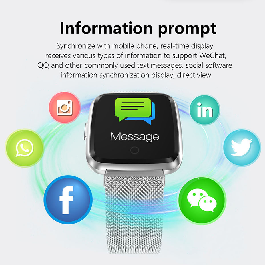 COLMI Full screen multi-touch Smart watch IP67 Waterproof Fitness Tracker Heart Rate Monitor Clock Smartwatch For Android IOS_10