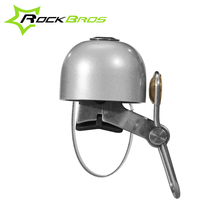 Rockbros Bicycle Bell Bike Accessories Handlebar Stainless Steel+Copper Classic Sound Bicycle Alarm Bicycle Horn Bike Rings