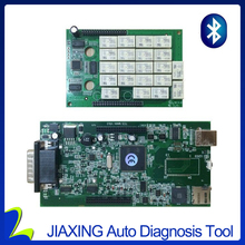Double board Multidiag pro+ TCS cdp pro with Bluetooth 2015R3/R1 with 4GB TF card can choose TCS software work many cars(China)