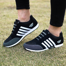 Free shipping!2017 New men's breathable casual shoes men's spring autumn brand casual shoes size 39-44 no logo shoes