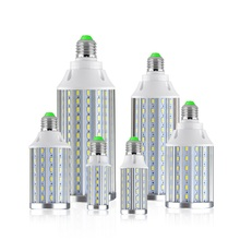 Aluminum LED Corn Light Bulb AC 110V 220V LED Lamp E27 for Garage Factory Warehouse Indoor Large Area Lighting 50W 30W 20W 10W(China)