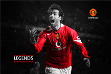 Ruud Van Poster Red Legends Posters Madrid Wall Sticker CR7 Wallpaper Football Soccer World Cup Stickers Canvas Art Prints #2148(China)