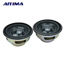 AIYIMA 2Pcs 1.5Inch 40MM Mini Portable Speakers 4ohm 3W Full Frequency Stereo Sound Small Hifi Speaker