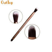 OutTop Love Beauty Female  2016 Perfec Excellent Doubled-end Eye Shadow Makeup Brush  Free Shipping je16 Drop Shipping