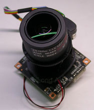 "AHD-H (1080P) Motorized Zoom 2.8-12mm LEN 1/2.9"" IMX322 CMOS + NVP2440 CCTV board camera module PCB board +OSD Cable"