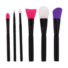 1pc Professional Makeup Brushes Mask Brush Facial Eye Makeup Face Silica Gel DIY Mask Brushes Cosmetic Beauty Tools