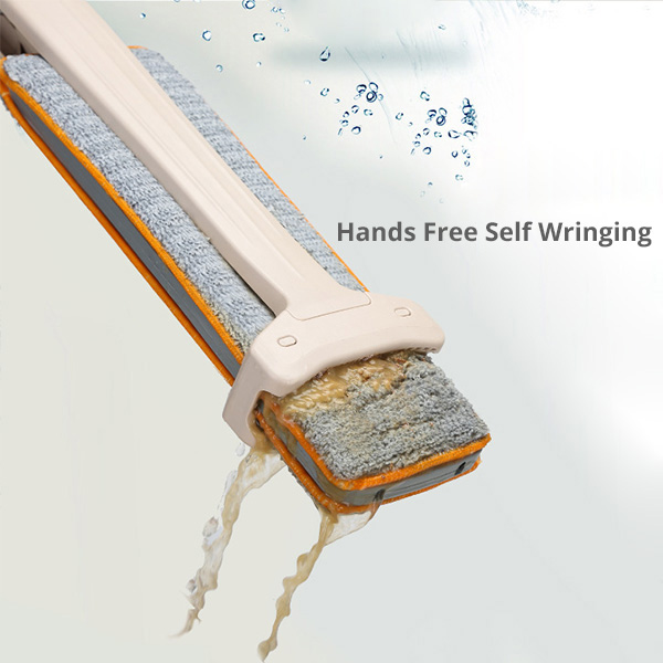 Self-Wringing Double Sided Flat Mop 2