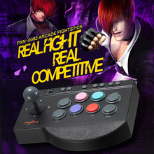 100% New Arrive PXN-0082 Game Joystick Gaming Controllers 8 Buttons Game Rocker Lever Joystick Gampad for PS4/PS3/ XBOX ONE/PC(China)