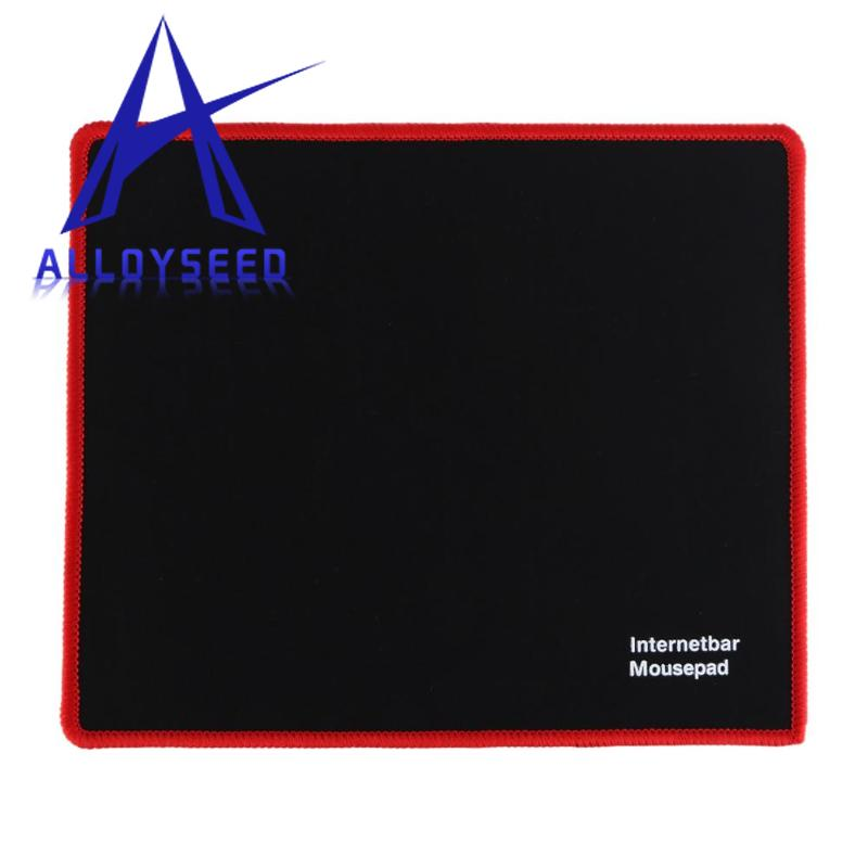 25x21cm Professional Gaming Mouse Pad Solid Color Locking Edge Mouse Mat Anti-slip Natural Rubber Gaming Mouse Mat for PC Laptop 12